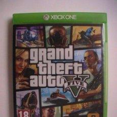 Xbox One: GRAND THEFT AUTO 5 GTA V XBOX ONE PAL ESPAÑA. Lote 112986943