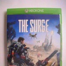 Xbox One: THE SURGE XBOX ONE PAL UK CON MENU Y SUBTÍTULOS EN CASTELLANO. Lote 112987155