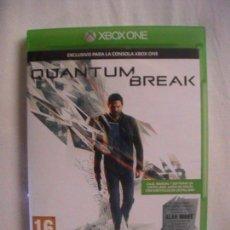 Xbox One: QUANTUM BREAK XBOX ONE PAL ESPAÑA. Lote 112987215