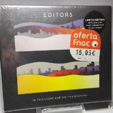 Xbox One: CD - MUSICA - EDITORS – IN THIS LIGHT AND ON THIS EVENING - ALL MEDIA - PRECINTADO! . Lote 115124043