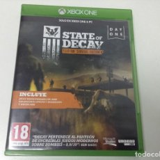 Xbox One: STATE OF DECAY YEAR ONE SURVIVAL EDITION. Lote 115140055