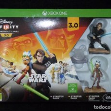 Xbox One: DISNEY INFINITY 3.0 STARTER PACK XBOX ONE. STAR WARS. ESPAÑOL CASTELLANO. NUEVO PRECINTADO. Lote 115455759