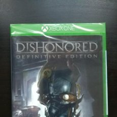 Xbox One: DISHONORED DEFINITIVE EDITION – XBOX ONE – PRECINTADO (NUEVO A ESTRENAR). Lote 115553707