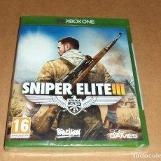 Xbox One: SNIPER ELITE III PARA XBOX ONE, A ESTRENAR, PAL. Lote 117530799
