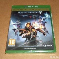 Xbox One: DESTINY : EL REY DE LOS POSEIDOS PARA MICROSOFT XBOX ONE ,A ESTRENAR, PAL. Lote 117531419