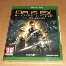 Xbox One: DEUS EX : MANKIND DIVIDED PARA MICROSOFT XBOX ONE, A ESTRENAR, PAL. Lote 117531531