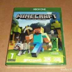 Xbox One: MINECRAFT PARA MICROSOFT XBOX ONE, A ESTRENAR, PAL. Lote 117531587