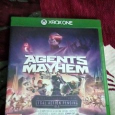 Xbox One: AGENTS MAYHEM XBOX ONE. Lote 118886942