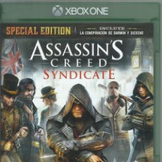 Xbox One: ASSASSIN'S CREED SYNDICATE SPECIAL EDITION. Lote 120632171