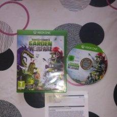 Xbox One: JUEGO XBOX ONE PLANTS VS ZOMBIES GARDEN WARFARE. Lote 128063059