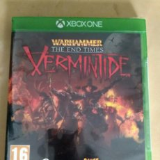 Xbox One: XBOX ONE JUEGO VERMINTIDE THE END TIMES NUEVO. Lote 130063075