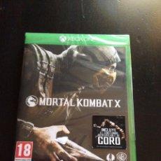 Xbox One: VIDEOJUEGO MORTAL KOMBAT X PARA XBOX ONE PRECINTADO. Lote 130803439