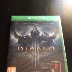 Xbox One: VIDEOJUEGO DIABLO REAPER OF SOULS PARA XBOX ONE PRECINTADO. Lote 130803532