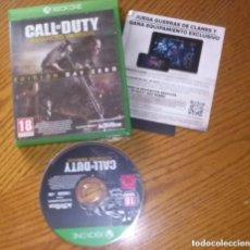 Xbox One: JUEGO XBOX ONE CALL OF DUTY ADVANCED WARFARE EDICION DAY ZERO. Lote 131666426