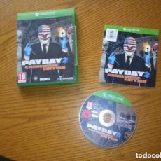 Xbox One: JUEGO XBOX ONE PAR DAY 2 CRIME WAVE EDITION. Lote 131760890