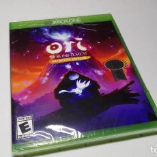 Xbox One: ORI AND THE BLIND FOREST . DEFINITIVE EDITION ( XBOX ONE - USA) PRECINTADO! . Lote 133214506