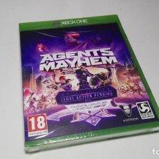 Xbox One: AGENTS MAYHEM ( XBOX ONE - PAL) EN CASTELLANO!. Lote 138110214