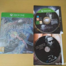 Xbox One: JUEGO XBOX ONE FINAL FANTASY XV DELUXE EDITION. Lote 138935078