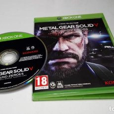 Xbox One: METAL GEAR SOLID V - GROUND ZEROES ( XBOX ONE) EN CASTELLANO . Lote 140277430