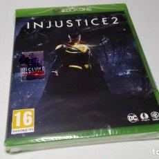 Xbox One: INJUSTICE 2 ( XBOX - ONE - ESP) PRECINTADO!. Lote 142785438