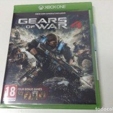 Xbox One: GEARS OF WAR 4 + 4 JUEGOS GEARS OF WAR DESCARGABLES. Lote 142478846