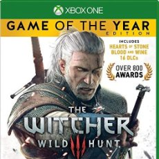 Xbox One: THE WITCHER 3 GOTY. Lote 143303362