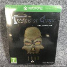 Xbox One: TOWER OF GUNS LIMITED EDITION NUEVO Y PRECINTADO MICROSOFT XBOX ONE. Lote 144814200