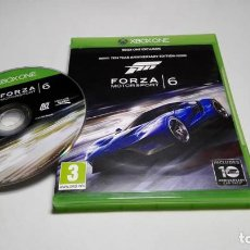 Xbox One: FORZA 6 - MOTORSPORT ( XBOX ONE ) EN CASTELLANO . Lote 146272686