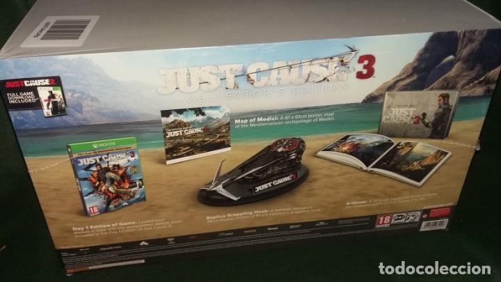 JUST CAUSE 3 EDICION COLECCIONISTA PRECINTADO XBOX ONE (Juguetes - Videojuegos y Consolas - Xbox One)