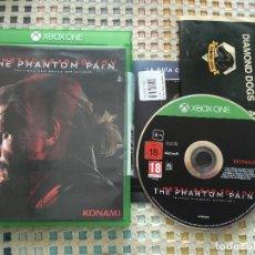 Xbox One: METAL GEAR SOLID V THE PHANTOM PAIN MGS 5 XBOX ONE XONE X-ONE KREATEN. Lote 147514526