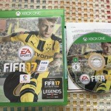 Xbox One: FIFA 17 XBOX ONE XONE X-ONE KREATEN. Lote 147515462