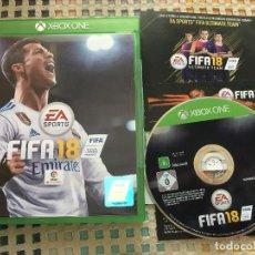 Xbox One: FIFA 18 XBOX ONE XONE X-ONE KREATEN. Lote 147516198