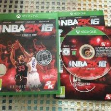 Xbox One: NBA 2K16 2K 16 XBOX ONE XONE X-ONE KREATEN. Lote 147526530