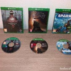 Xbox One: 3 JUEGOS XBOX ONE SPARK GAME OF THRONES CONSTRUCTOR JUEGO DE TRONOS . Lote 147739454