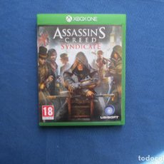 Xbox One: XBOX ONE - ASSASSIN´S CREED SYNDICATE - PAL ESPAÑA - TOTALMENTE EN CASTELLANO. Lote 147987282