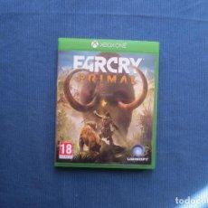 Xbox One: FAR CRY PRIMAL - XBOX ONE - PAL ESPAÑA - FARCRY PRIMAL - TOTALMENTE EN CASTELLANO. Lote 147988246