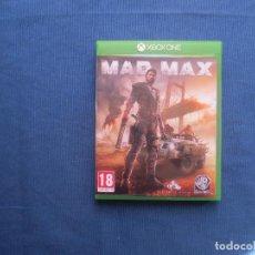 Xbox One: MAD MAX - PAL ESPAÑA - XBOX ONE - AGOTADO Y DESCATALOGADO - DIFÍCIL DE CONSEGUIR - COMO NUEVO. Lote 147989174