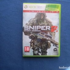 Xbox One: XBOX 360 - SNIPER GHOST WARRIOR 2 LIMITED EDITION - PAL ESPAÑA. Lote 147993958