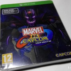 Xbox One: MARVEL VS. CAPCOM INFINITE - DELUXE EDITION ( XBOX ONE - PAL - ESP) PRECINTADO !. Lote 154599930