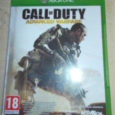 Xbox One: XBOX ONE CALL OF DUTY ADVANCED WARFARE EN PERFECTO ESTADO. Lote 149685318