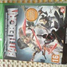 Xbox One: BATTLEBORN BATTLE BORN PRECINTADO NUEVO XBOX ONE XONE X-ONE KREATEN CASTELLANO. Lote 150027034