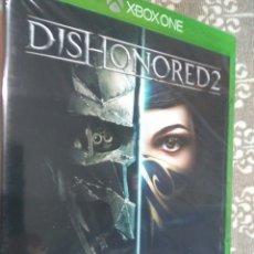 Xbox One: JUEGO DISHONORED 2 MICROSOFT XBOX ONE NUEVO PRECINTADO. Lote 150853541