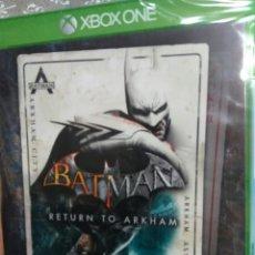 Xbox One: JUEGO BATMAN RETURN TO ARKHAM MICROSOFT XBOX ONE NUEVO PRECINTADO. Lote 150853604