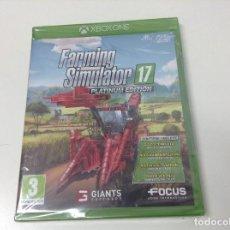 Xbox One: FARMING SIMULATOR 17 PLATINUM EDITION. Lote 151315022