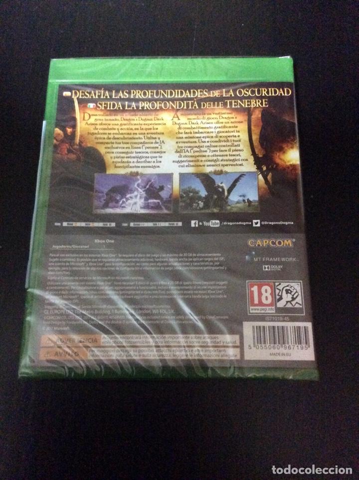Xbox One: Videojuego DRAGON'S DOGMA.DARK ARISEN para XBOX ONE PRECINTADO. - Foto 2 - 151877097