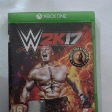 Xbox One: WWE 2K17. X-BOX ONE. Lote 152619658