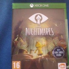 Xbox One: LITTLE NIGHTMARES - PRIMERA EDICIÓN PAL ESPAÑA - AGOTADO - PAL ESPAÑA - XBOX ONE - NUEVO. Lote 153626522