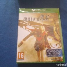 Xbox One: FINAL FANTAY TYPE - 0 HD - PAL ESPAÑA - XBOX ONE - NUEVO Y PRECINTADO. Lote 153629742