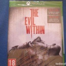 Xbox One: XBOX ONE - THE EVIL WITHIN - PRIMERA EDICIÓN PAL ESPAÑA - AGOTADO - NUEVO Y PRECINTADO. Lote 153635342