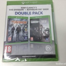 Xbox One: TOM CLANCY'S THE DIVISION + RAINBOW SIX SIEGE DOUBLE PACK. Lote 154494114